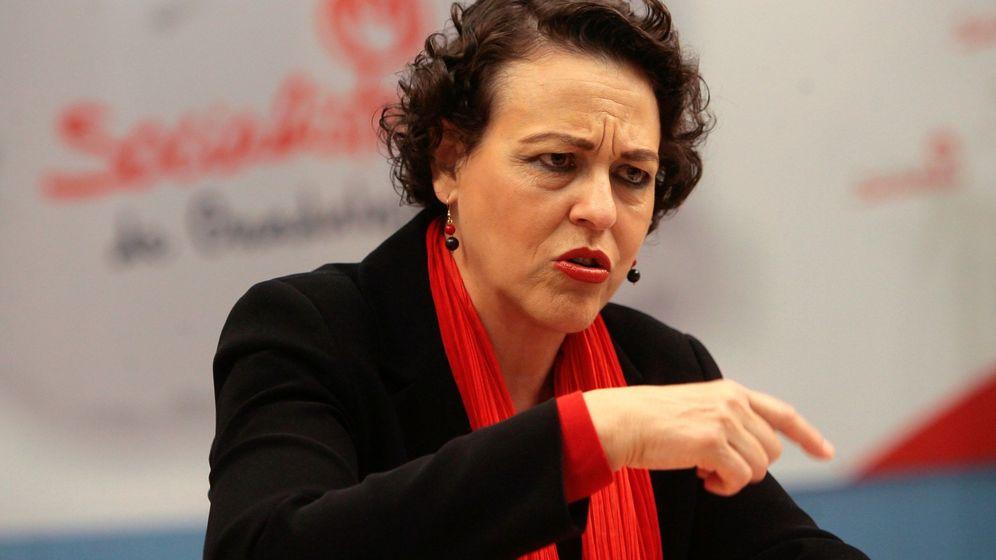 Foto: La candidata al Congreso del PSOE por Guadalajara y ministra de Trabajo, Migraciones y Seguridad Social, Magdalena Valerio. (EFE)