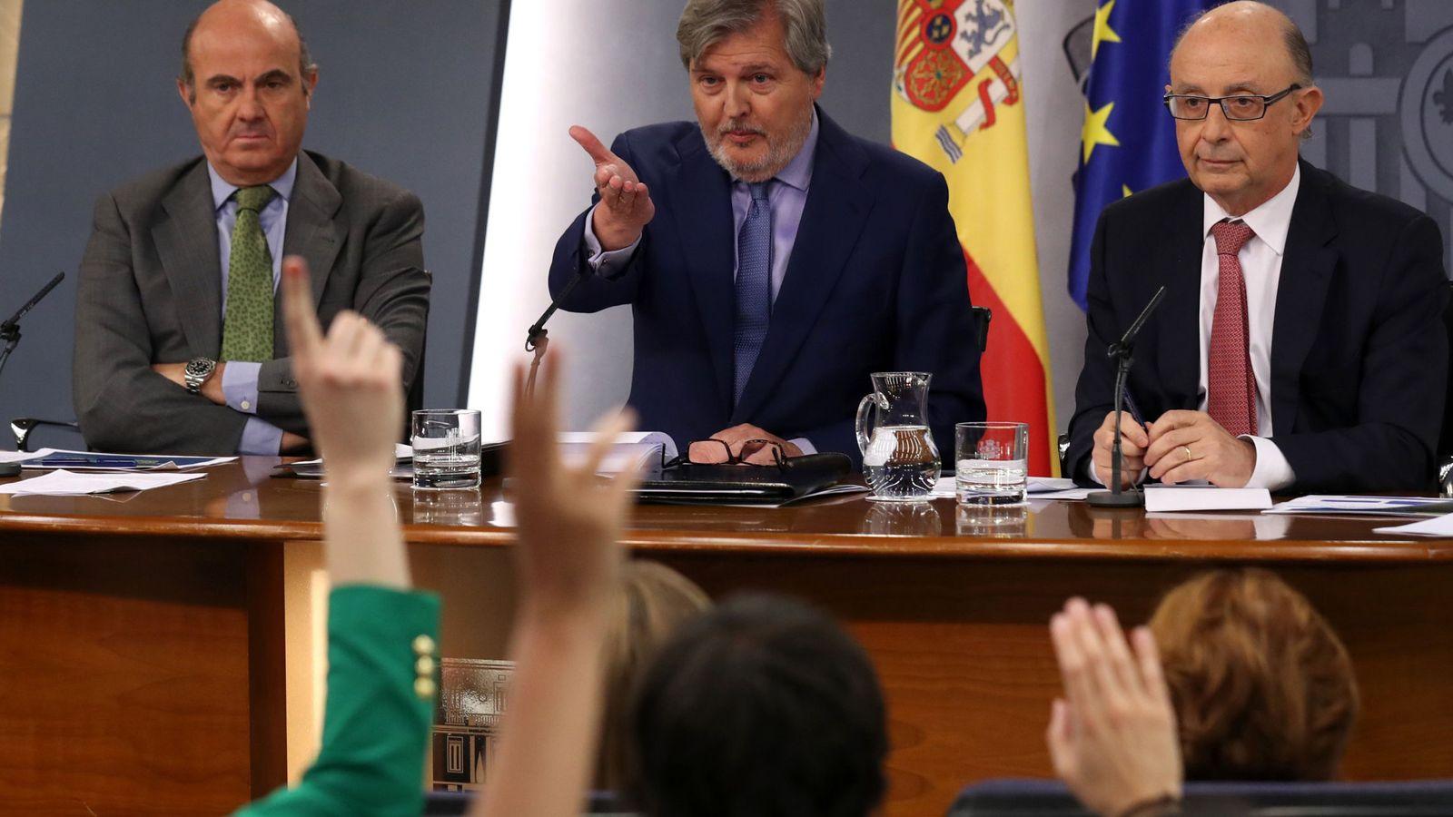 Foto: Rueda de prensa del Consejo de Ministros. (EFE)