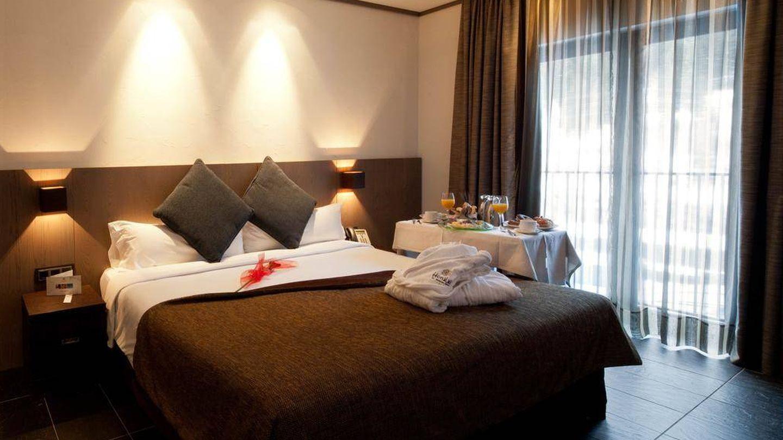 Una de las habitaciones del hotel. (Booking.com)