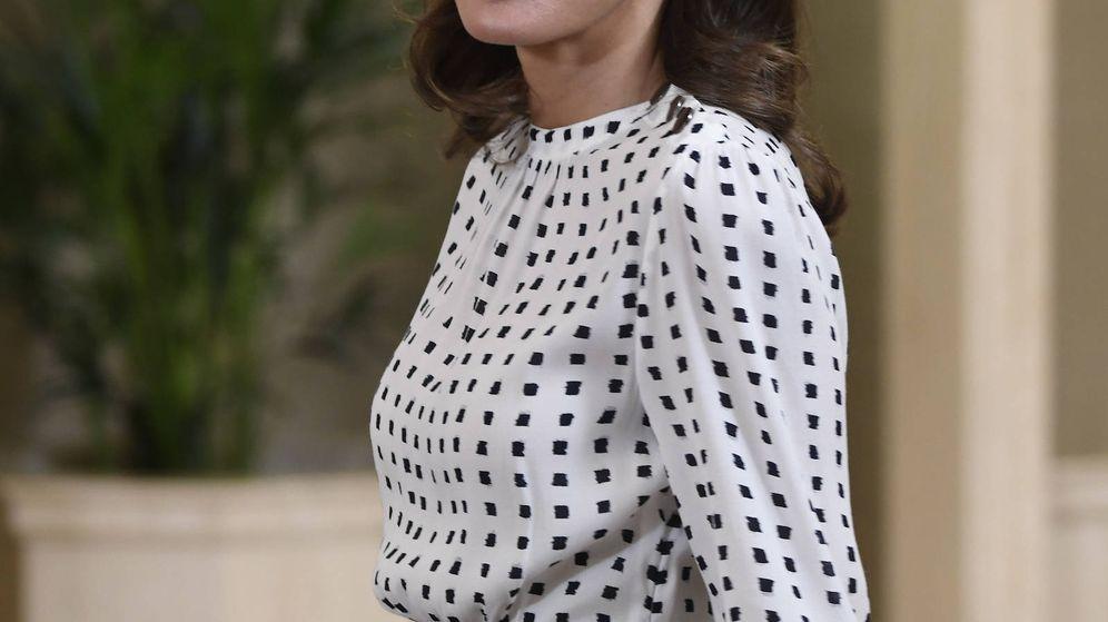 Foto: La reina Letizia durante las audiencias. (Limited Pictures)