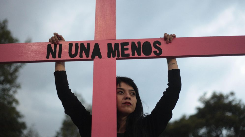 Foto: Protesta contra la violencia de género. (EFE)