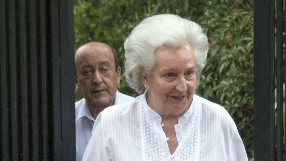 La infanta Pilar: La Familia Real no recibe tantos abucheos