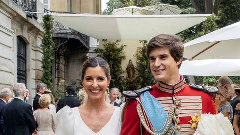 La tiara de la marquesa de la Motilla que se coló en la boda de Belén Corsini