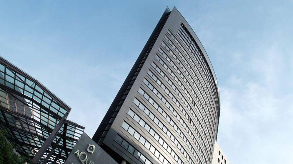 Foto: El complejo que alberga la sede de Iberdrola en Valencia y el centro comercial Aqua. (Aqua)