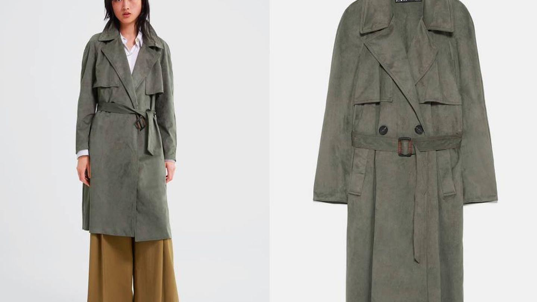 Sin duda, este (49,95 €) es nuestro nuevo abrigo de entretiempo preferido.  (Cortesía)