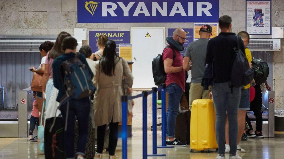 Foto: Mostrador de Ryanair. (EFE)