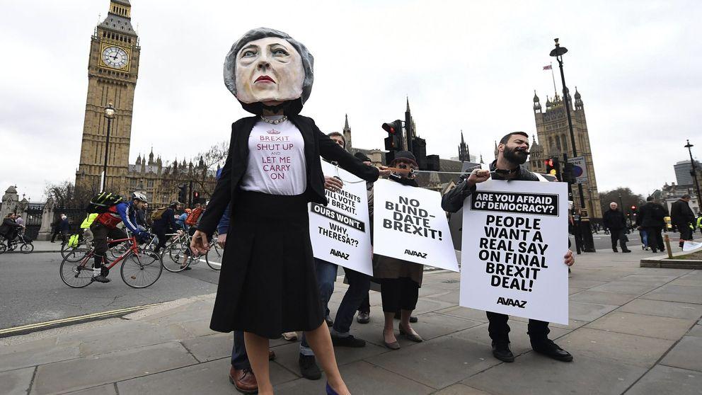 ¿Qué ocurrirá si May es derrotada hoy en el Parlamento con la ley del Brexit?