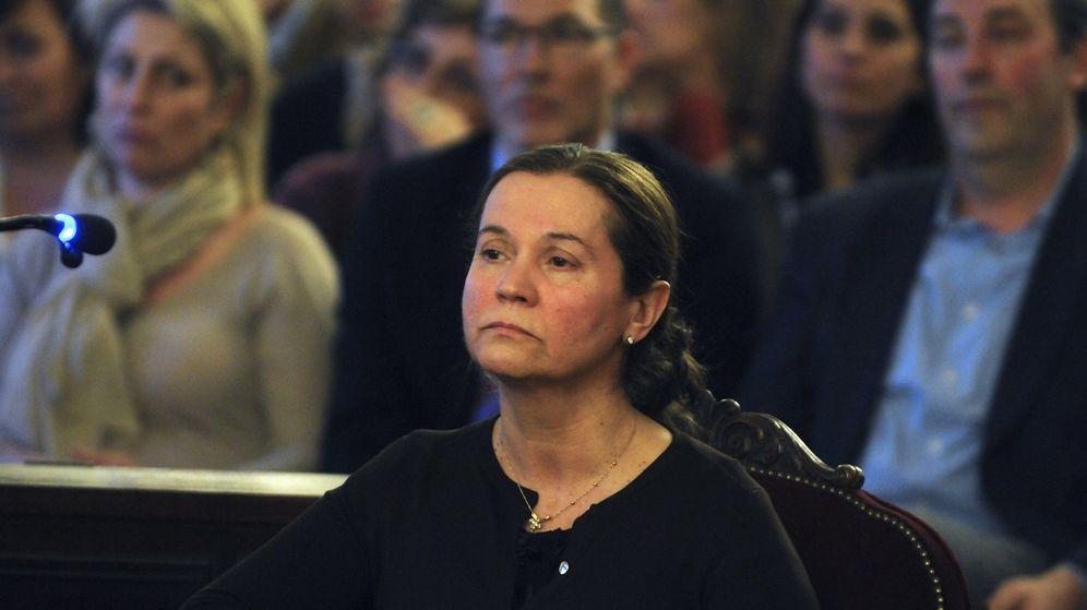Foto: Montserrat González, durante su declaración en el juicio. (EFE)