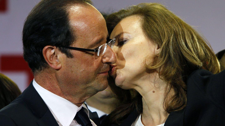 Francois Hollande y Valerie Trierweiler en una imagen de 2012 (Gtres)