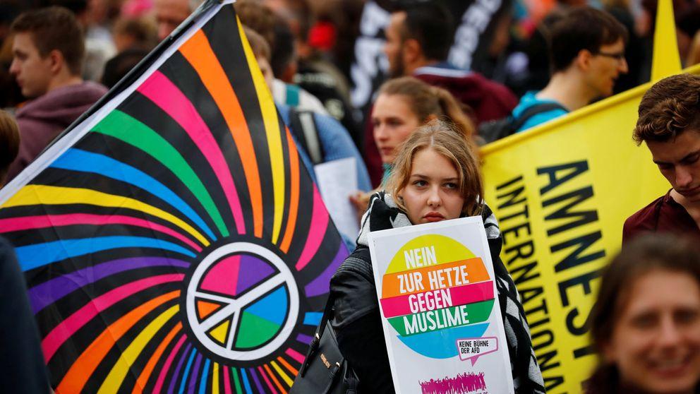 La Policía alemana eleva a 18 los heridos en las protestas en Chemnitz