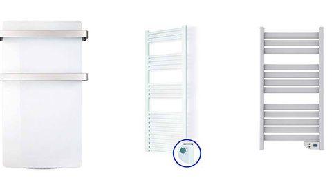 Los mejores toalleros eléctricos para calentar toallas y albornoces