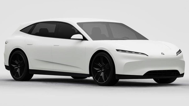 Carrocería de formato 'shooting brake' familiar y 4,75 metros de longitud. En Alemania se ha publicado que Alveri mantuvo contactos con Volkswagen y Tesla para aprovechar plataformas eléctricas de esos fabricantes.