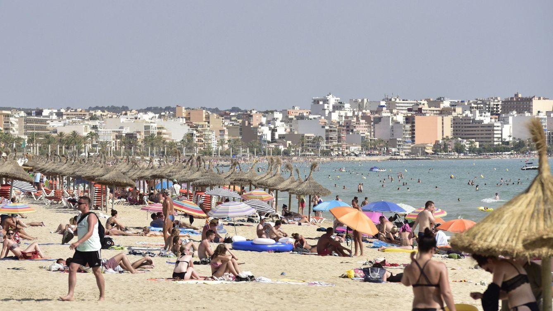 Foto: Playa de Palma, lugar cercano al suceso. (EFE)