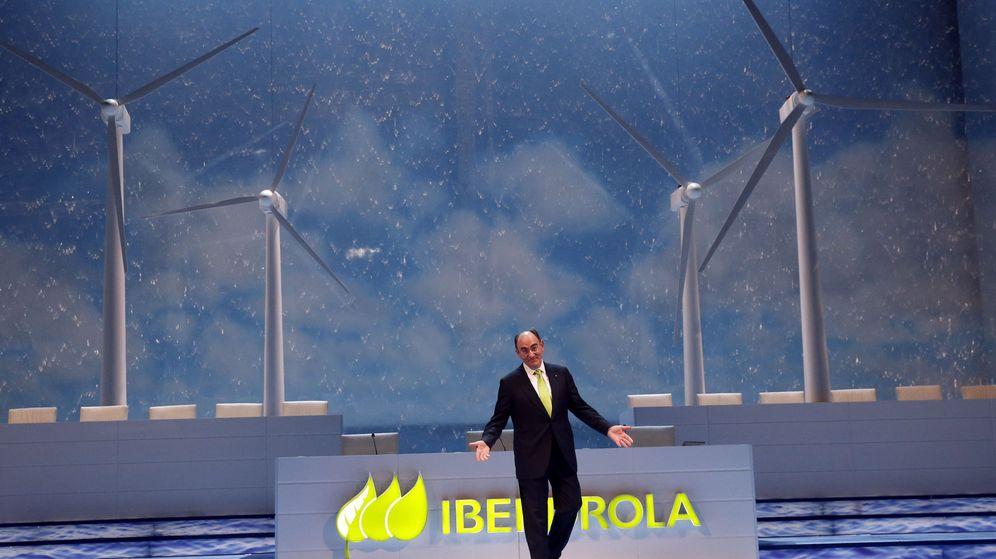 Foto: El presidente de Iberdrola, Ignacio Sánchez Galán, al inicio de la junta general de accionistas de Iberdrola. (EFE)