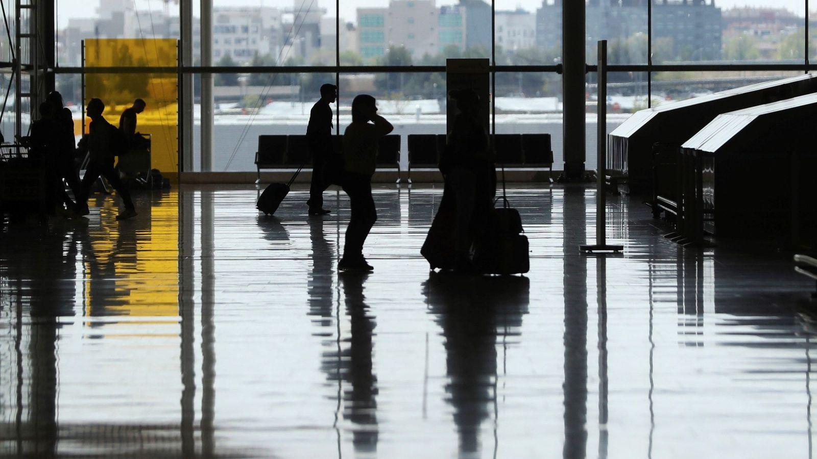 Foto: Imagen del aeropuerto de Barajas. (EFE)