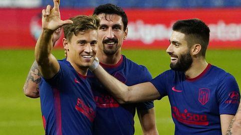 El Atlético demuestra su favoritismo en un partido redondo sin Joâo Félix en San Sebastián (0-2)