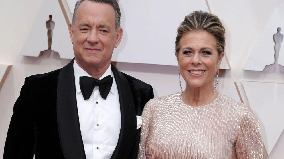 Foto: Tom Hanks junto a su esposa, Rita Wilson. (EFE)