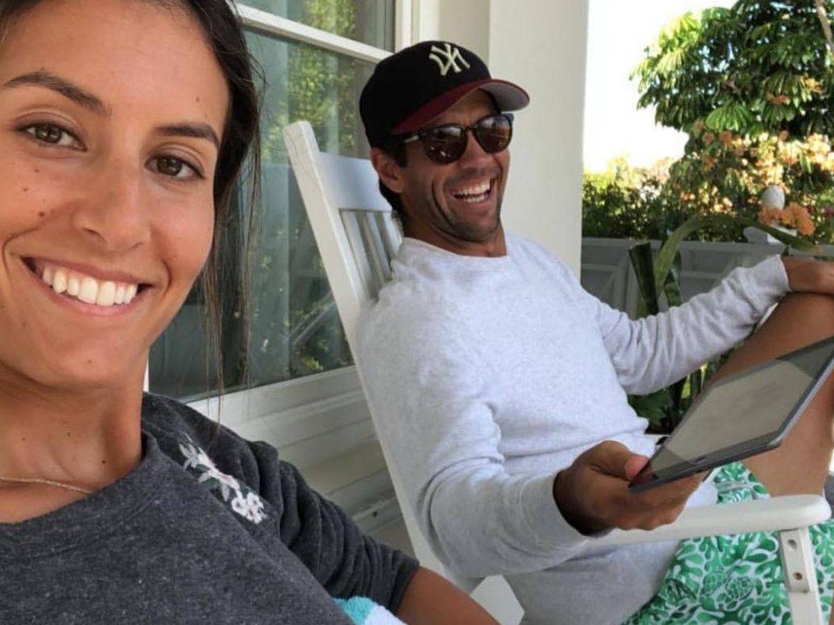 Foto: Anba Boyer y Fernando Verdasco, en las Bahamas. (Instagram)