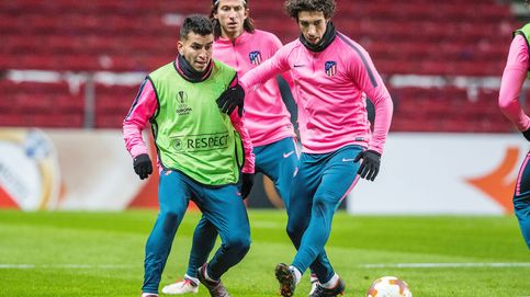 Vrsaljko y Correa, los dos únicos positivos por coronavirus del Atlético de Madrid