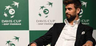 Post de Las ojeras de Piqué en la Copa Davis y el aviso de Ernesto Valverde