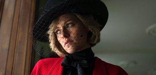Post de Se filtran nuevas y llamativas imágenes de Kristen Stewart caracterizada como Lady Di