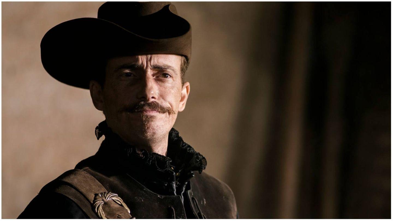 Víctor Clavijo, como Lope de Vega en 'El Ministerio del Tiempo'. (RTVE)