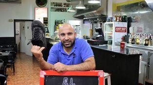 El kurdo que tiró un zapato (a Erdogan) y montó un restaurante (tras pasar por cárcel)