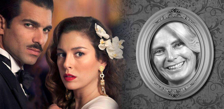 Foto: Blanca Suárez, Rubén Cortada y Carmen Díez de Rivera (Fotomontaje de Vanitatis)