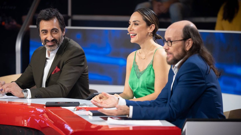 Juan del Val con los otros miembros del jurado de 'El desafío'. (7yAcción)