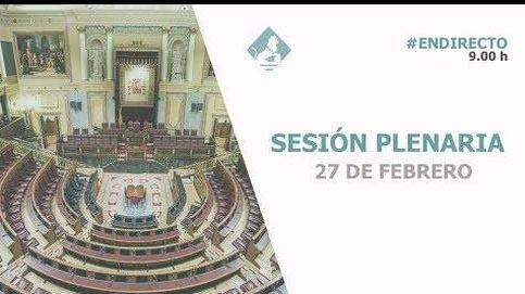 Siga en directo la última comparecencia parlamentaria de Pedro Sánchez