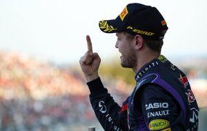 El título de Vettel, como empujar la bola dentro del hoyo