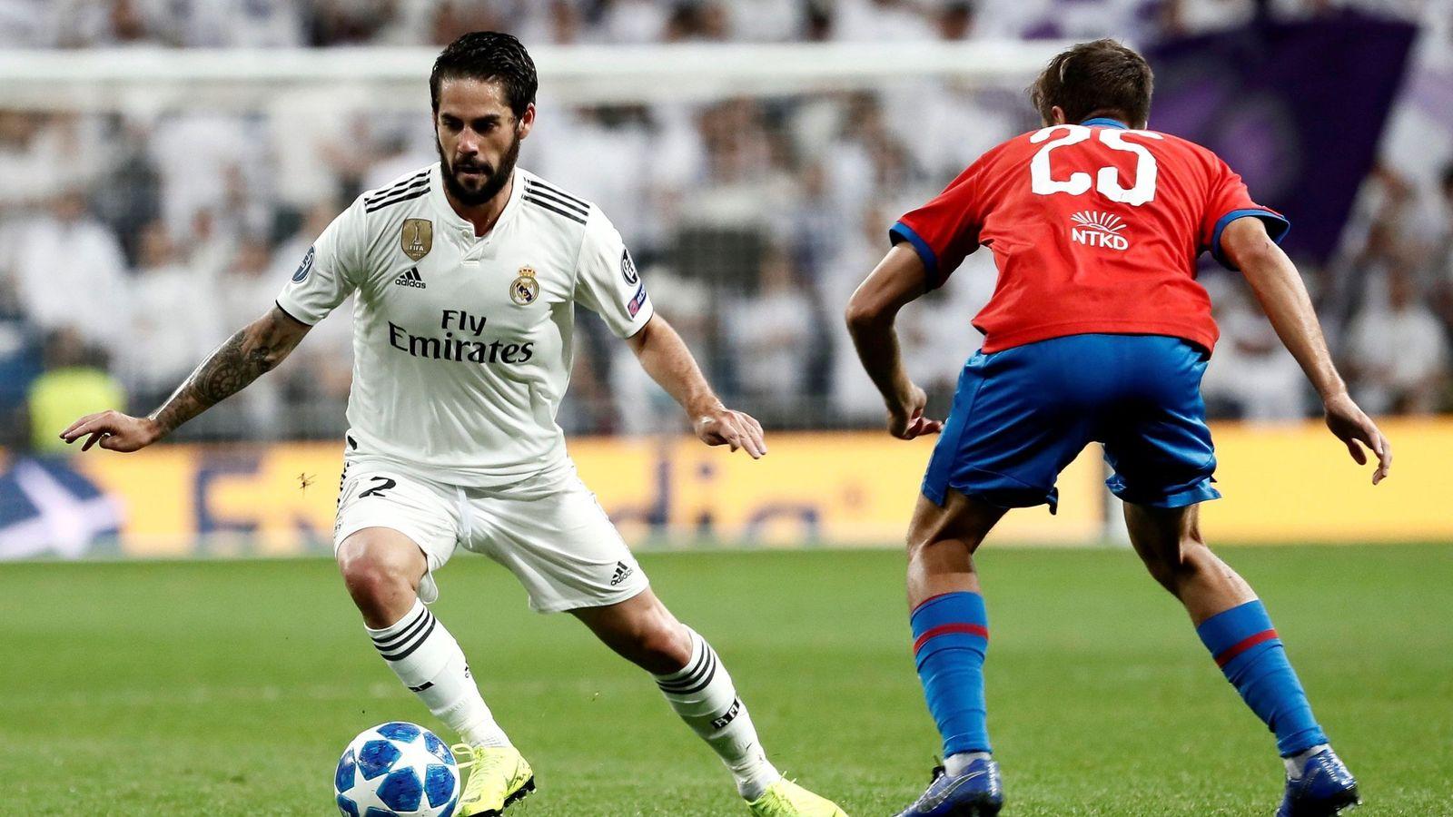 Foto: Real Madrid vs Viktoria Plzen. (Reuters)