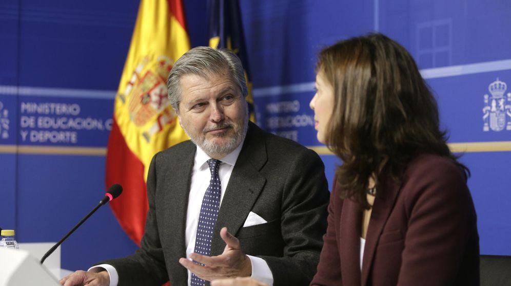 Foto: El ministro de Educación, Cultura y Deporte, Íñigo Méndez de Vigo. (EFE)