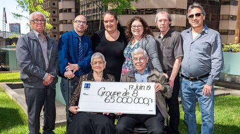 Una familia gana 65 millones a la lotería 2 años después de que les tocara un gordo