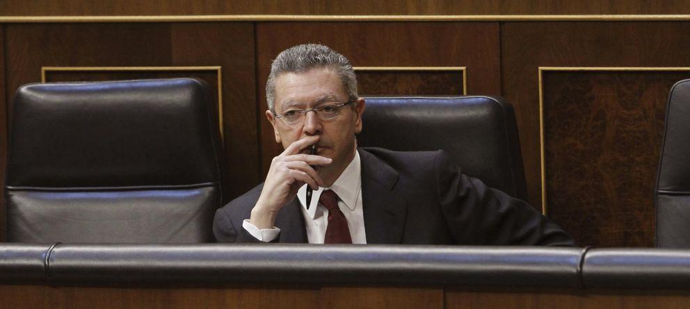 Foto: El exministro de Justicia, Alberto Ruiz-Gallardón (EFE)