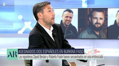 Las palabras de Javier Ruiz tras la muerte de su amigo David Beriain: Yo lo traje a Cuatro