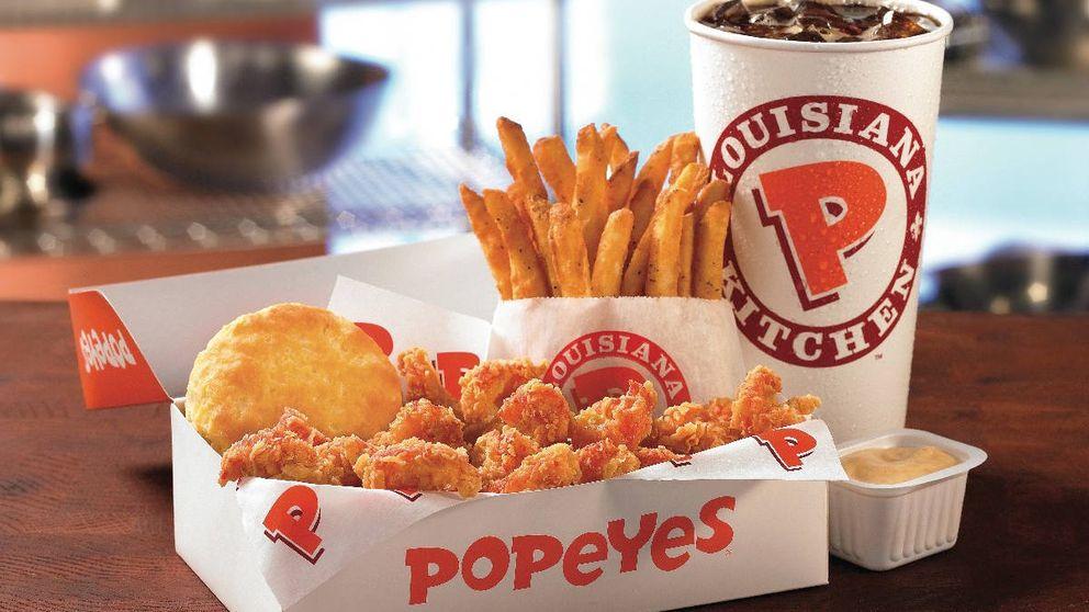 Burger King trae a España al rey del pollo (Popeyes) para plantar cara a KFC