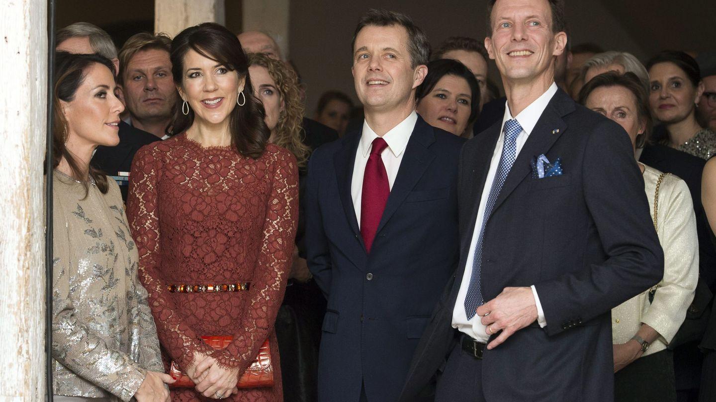 Las princesas y los príncipes de Dinamarca. (EFE)