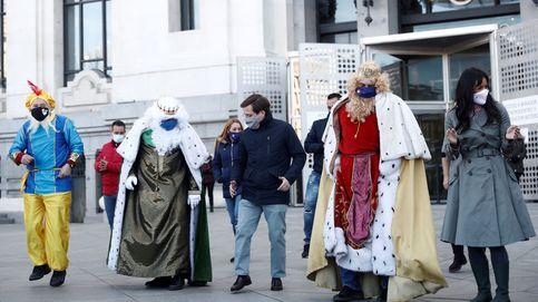 Almeida se marca un baile al ritmo de 'Jerusalema' con los Reyes Magos