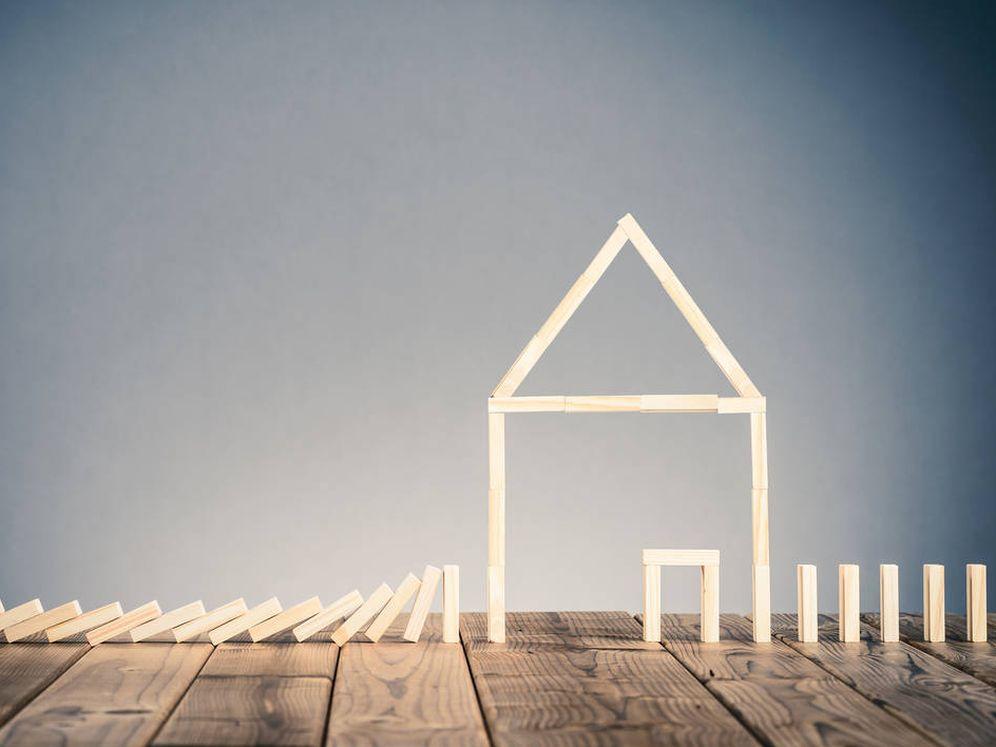 Foto: El dominó del ladrillo y el sector residencial