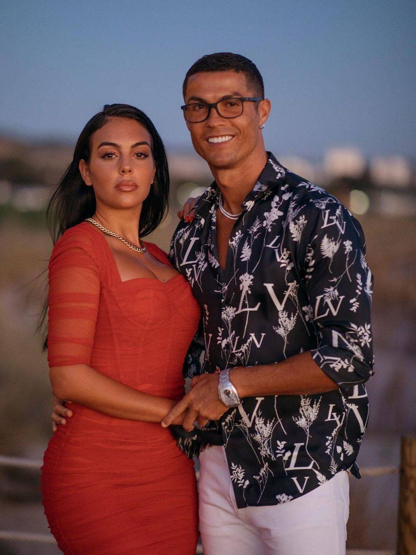 Cristiano y Georgina, en una imagen de archivo. (Redes)