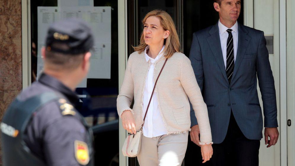 Foto: Los exduques de Palma, la infanta Cristina e Iñaki Urdangarin. (Reuters)