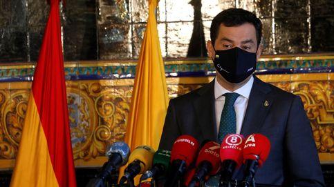 Moreno solicita a los andaluces que se queden en casa y tengan sentido común
