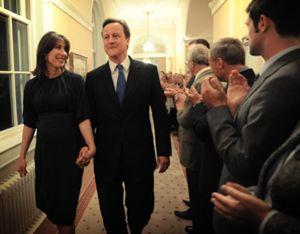 El Primer Ministro inglés, David Cameron, y su mujer visitan Granada