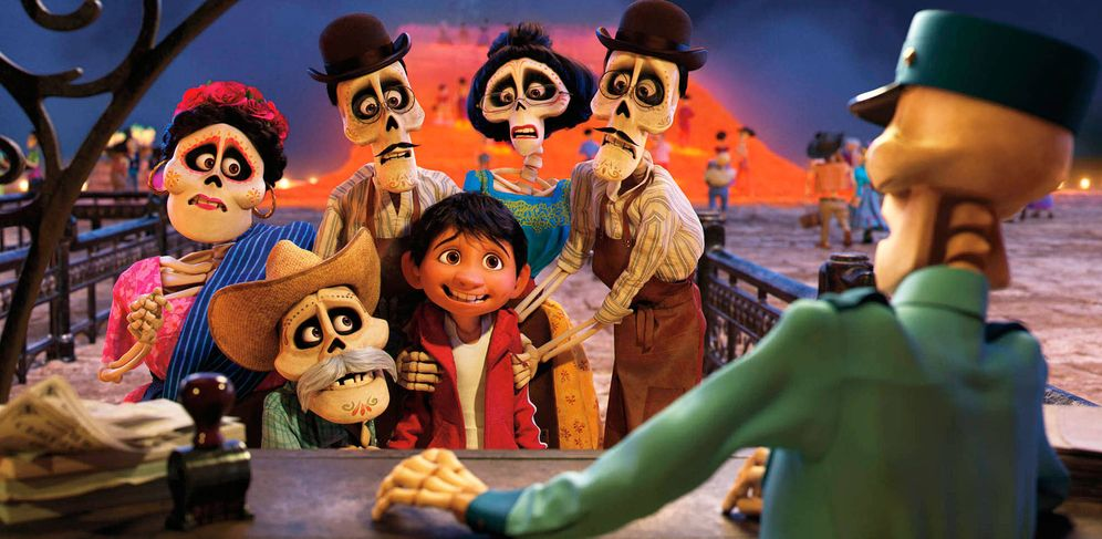 Foto: Fotograma de 'Coco'. (Disney-Pixar)