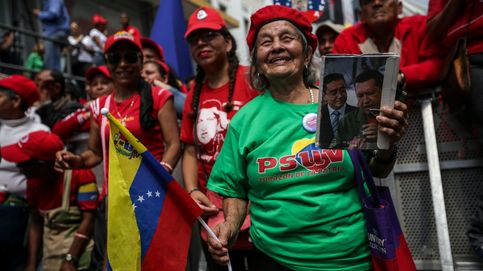 Protesta chavista en Caracas