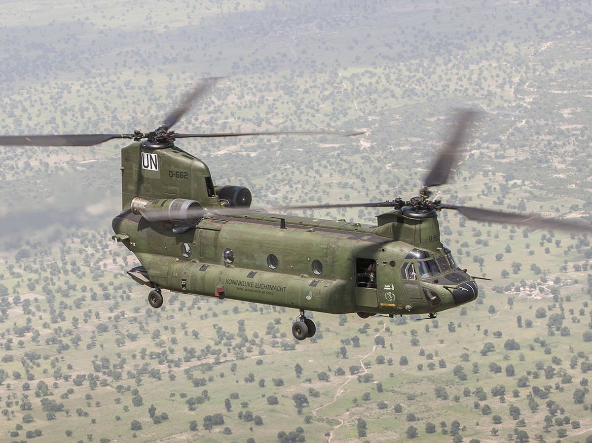 Foto: CH-47F holandés en Mali (MinDef.NL)