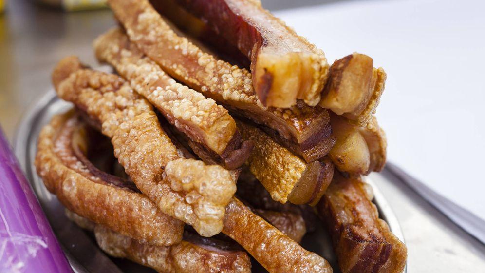Foto: Deliciosa bandeja de torreznos. (iStock)