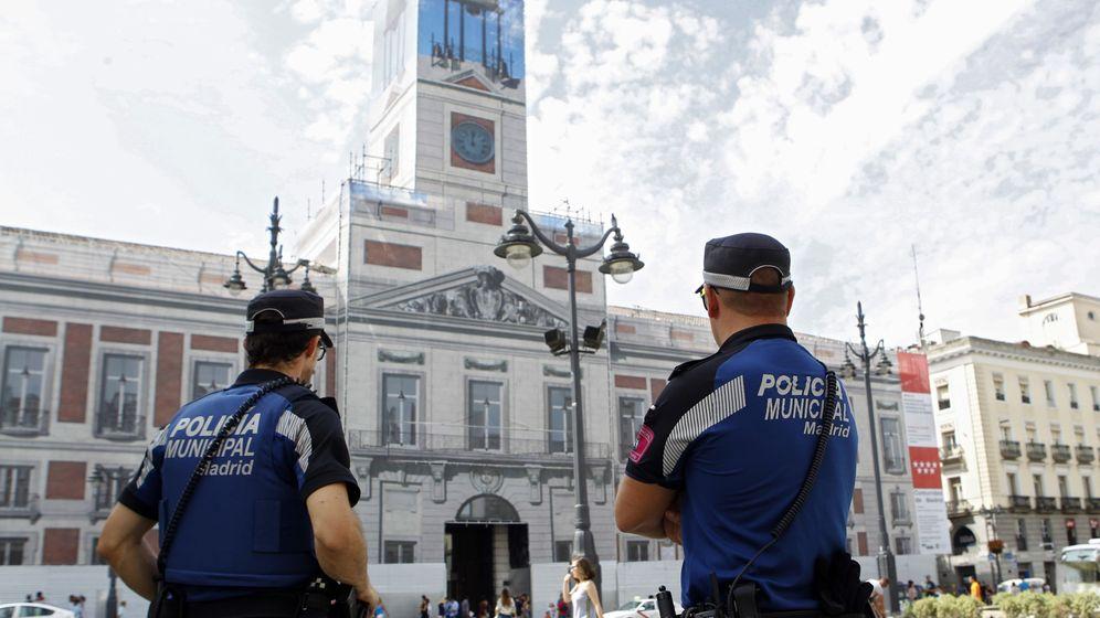 Foto: Agentes de la Policía Municipal de Madrid. (EFE)