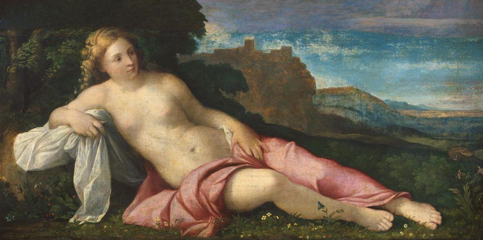 Foto: 'Venus in a landscape', Palma Vecchio